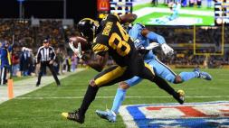 Antonio Brown von den Pittsburgh Steelers