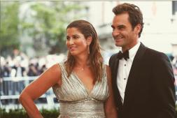 Roger Federer und Ehefrau Mirka