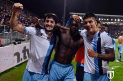 Lazio Rom im Siegjubel
