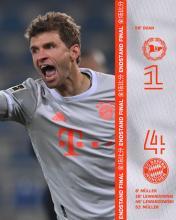 Thomas Müller erzielt beim 4:1 in Bielefeld zwei Tore
