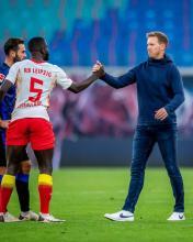 Julian Nagelsmann mir RB Leipzig auf Rang 1